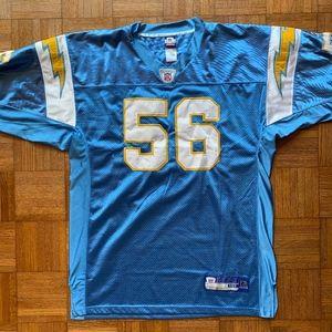 San Diego Chargers Merriman #56, Reebok 50 Jersey